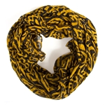 Mizzou Black & Gold Scarf