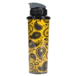 Mizzou Gold Official Paisley Water Bottle