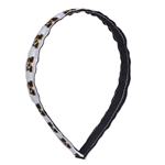 Mizzou Tiger Head White Spirit Headband