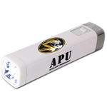 Mizzou Oval Tiger Head White Mobile Device Charger