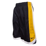 Mizzou Nike Oval Tiger Head Lightweight Ventilation Dri-Fit Black & Gold Athletic Shorts