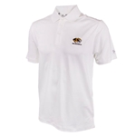 Mizzou Under Armour Tiger Head Heat Gear White Polo