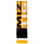 Mizzou Tigers Black & Gold Scarf