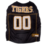 Mizzou Tigers Black Mesh Pet Jersey