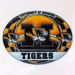 Mizzou Tigers Stained Glass Decal