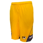 Mizzou Under Armour Gold Shorts