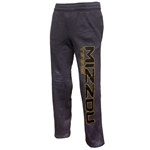 Mizzou Tigers Under Armour Charcoal Open Bottom Sweatpants