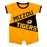 Mizzou Tigers Black & Gold Onesie