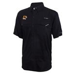 Mizzou Tiger Head Black Fishing Shirt