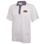 Mizzou Ping Oval Tiger Head White Polo
