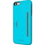 Incipio Blue and Grey Stowaway iPhone 6 Case