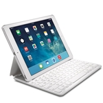 Kensington White Thin X2 iPad Air Keypolio Case with Keyboard