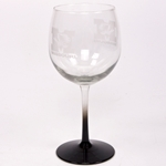 Missouri Etched Balloon Wine Glass