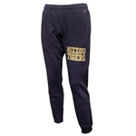 Mizzou Tigers Charcoal Closed Bottom Sweatpants