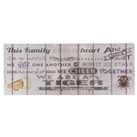 We are a Tiger Family Framed Print