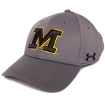 Mizzou Under Armour Grey Stretch-Fit Hat