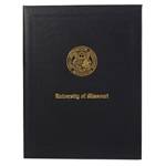 University of Missouri Official Seal Black Diploma Cover