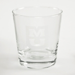 Mizzou Etched Tumbler Glass
