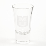Mizzou Etched Shot Glass
