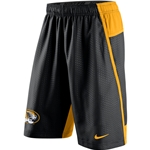 Mizzou Nike 2015 Dri-Fit Black & Gold Shorts