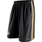 Mizzou Nike 2015 Dri-Fit Oval Tiger Head Black Shorts
