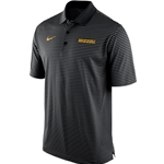 Mizzou Nike 2015 Striped Black Polo