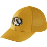 Mizzou Nike&reg Oval Tiger Head Gold Stretch-Fit Hat