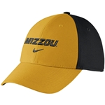 Mizzou Nike 2015 Black & Gold Stretch-Fit Hat