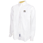 Mizzou Tiger Head White Dress Shirt