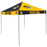 Mizzou Black and Gold Checkerboard Tailgate Tent