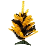 Mizzou Black & Gold Holiday Tree 2'