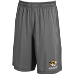Mizzou Under Armour Charcoal Shorts