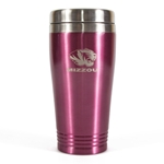 Mizzou Pink Travel Mug