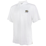 Mizzou Cutter & Buck Tiger Head White Polo