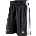 Mizzou Nike 2015 Oval Tiger Head Black Athletic Shorts