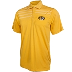 Mizzou Ping Oval Tiger Head Gold & White Polo