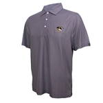 Mizzou Cutter & Buck Tiger Head DryTec Grey Polo