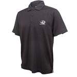 Mizzou Cutter & Buck Tiger Head DryTec Sun Protection Charcoal Polo