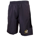Mizzou Tiger Head Charcoal Shorts