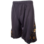 Mizzou Oval Tiger Head Charcoal Shorts