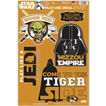 Mizzou Star Wars Decals Set of 4