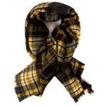 Mizzou Official Plaid Blanket Scarf