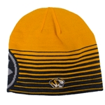 Mizzou Under Armour Gold & Grey Beanie
