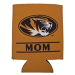 Mizzou Mom Oval Tiger Head Can Holder