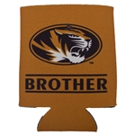 Mizzou Brother Oval Tiger Head Can Holder