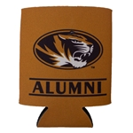 Mizzou Alumni Oval Tiger Head Can Holder