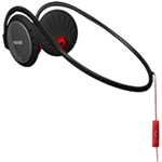 Maxell Pure Fitness Black Headphones with Neckband