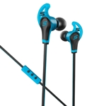 SMS Audio Blue Wired Sport In-Ear Headphones