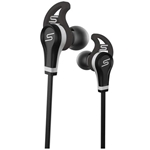 SMS Audio Black Wired Sport In-Ear Headphones