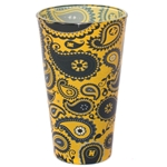 Mizzou Official Paisley Gold Pint Glass